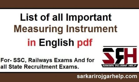 list of measuring instruments pdf