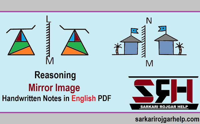 Mirror Image reasoning Handwritten notes PDF