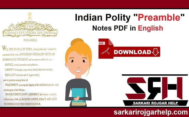 Preamble of the Indian Constitution | Indian Preamble Notes